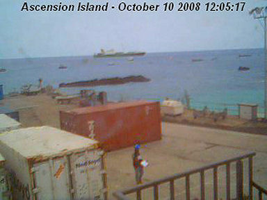 Ascension Island Webcam | The Sunrise Project